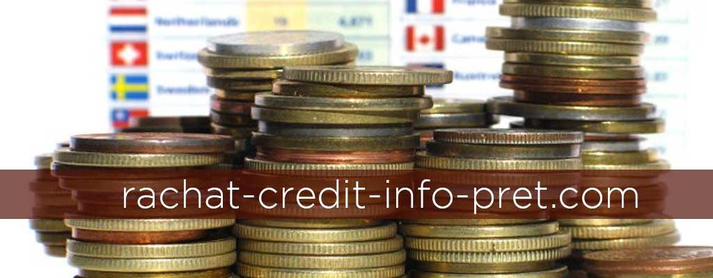Rachat credit pret